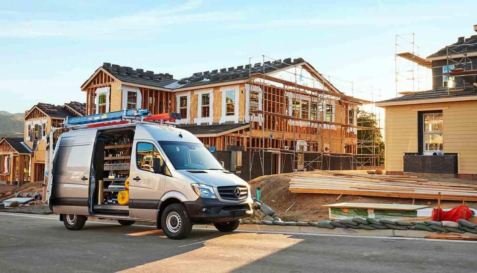 2017 Sprinter Cargo Van Jobsite