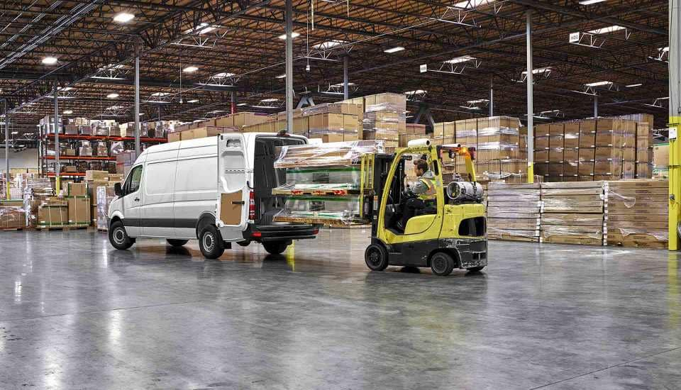 2017 Sprinter Cargo Van Warehouse