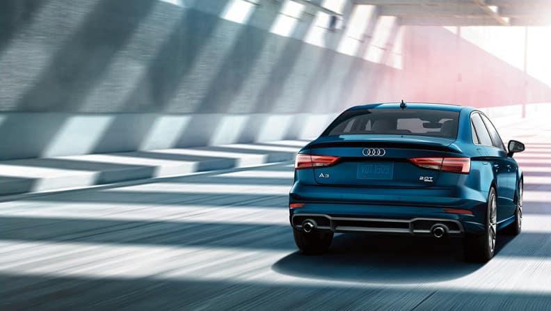 2018 Audi A3 Driving