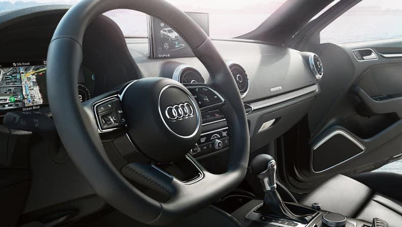 2018 Audi A3 Steering Wheel