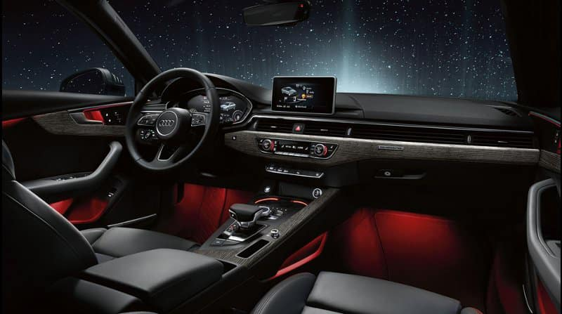 2018 Audi A4 Dash