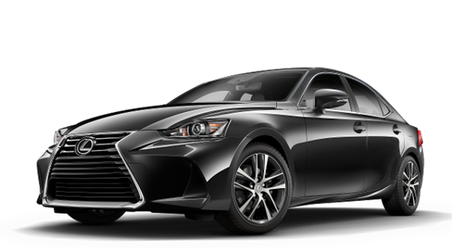 2018 Lexus IS black