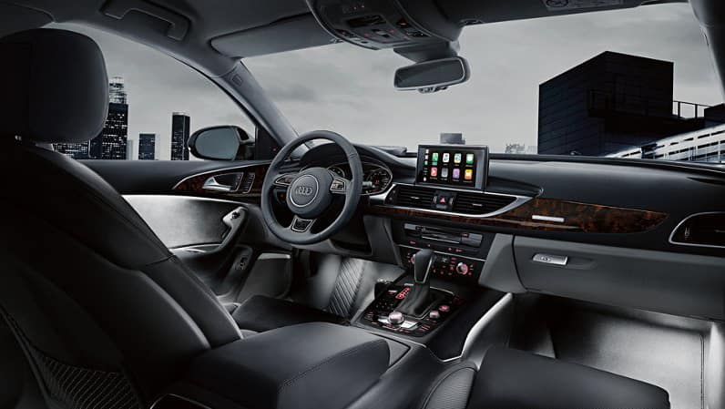 2018 Audi A6 Dash
