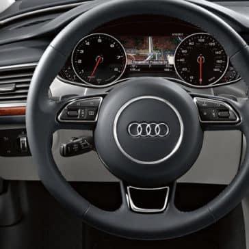 2018 Audi A6 Steering Wheel