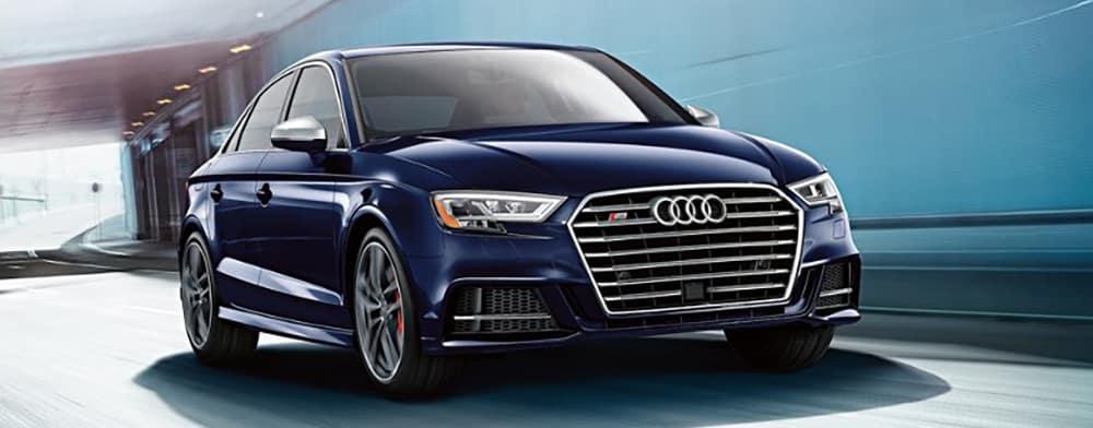 2018 Audi S3 Blue