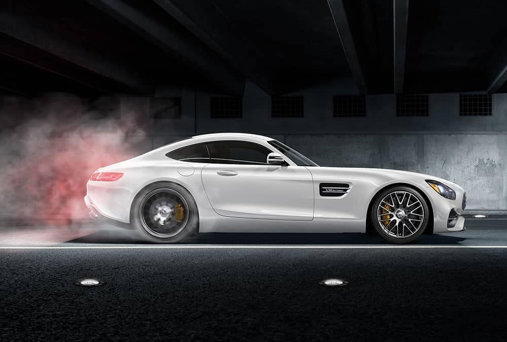 2018 MB AMG GT Coupe White