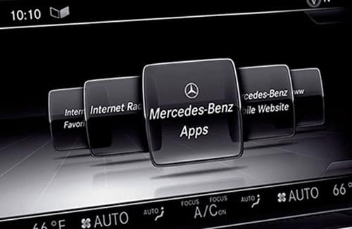 Mercedes-Benz Touchscreen