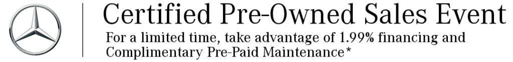 CPO Sales Event