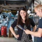 Talking in Repair Shop