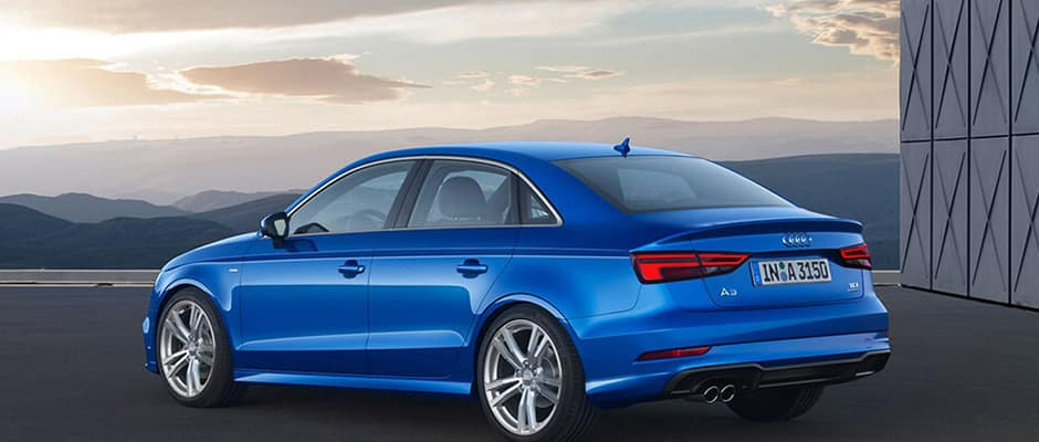 2017 Audi A3 Blue