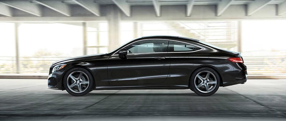 2018 Mercedes-Benz C-Class Coupe Driving