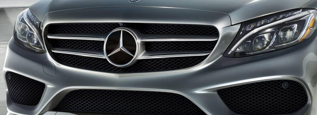 2018 MB C-Class Grill