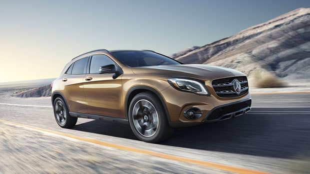 2018 MB GLA 250 Driving