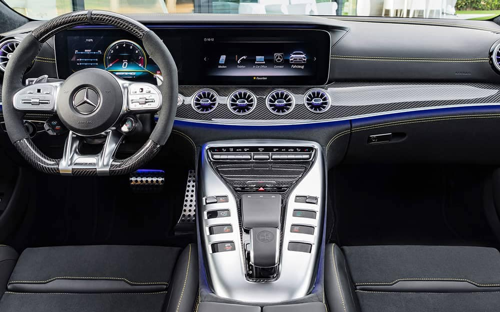 2019 MB AMG GT Interior