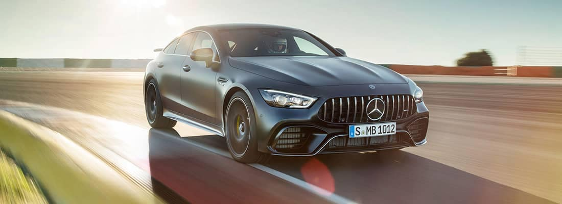 2019 MB AMG GT Driving