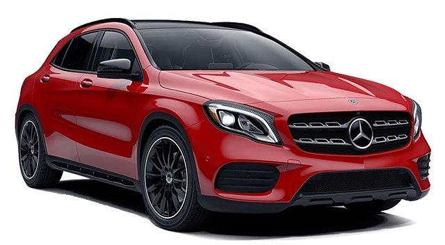 2019 MB GLA Red