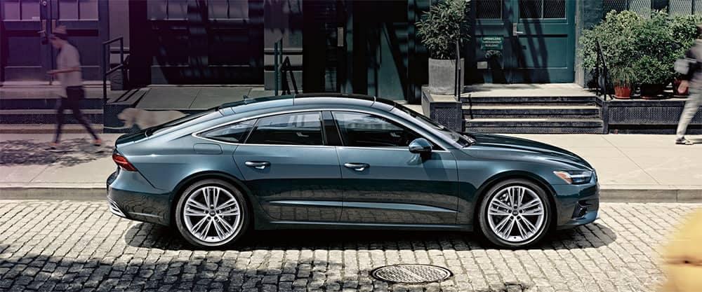 2019 Audi A7 Parked on Side of Street