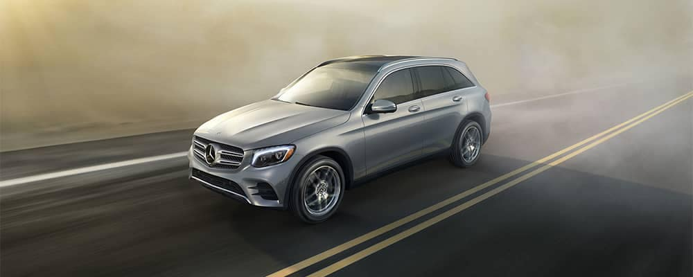 2019 Mercedes-Benz GLC Driving
