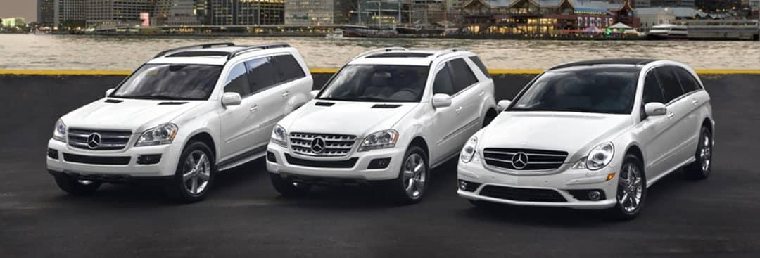 Mercedes-Benz BlueTEC SUVs: GL320, ML320 and R320