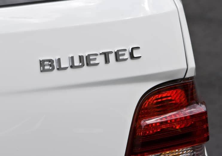 Mercedes-Benz BlueTEC badge