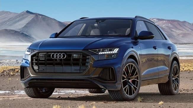 full exterior of 2019 Audi Q8