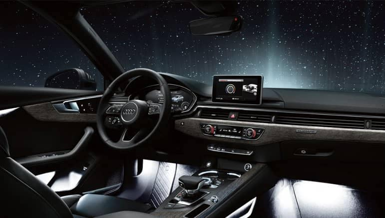 2019 Audi A4 Dash