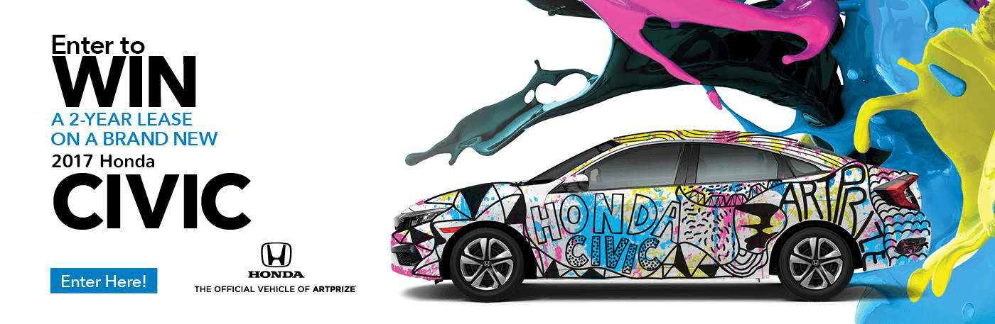 West Michigan Honda Dealers Design and Drive Art Contest
