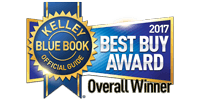 2017 Kelley Blue Book Best Buy Overall Winner