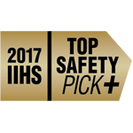 2017 IIHS Top Safety Pick +