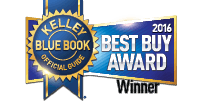 2016 Kelley Blue Book Best Buy Award Winner