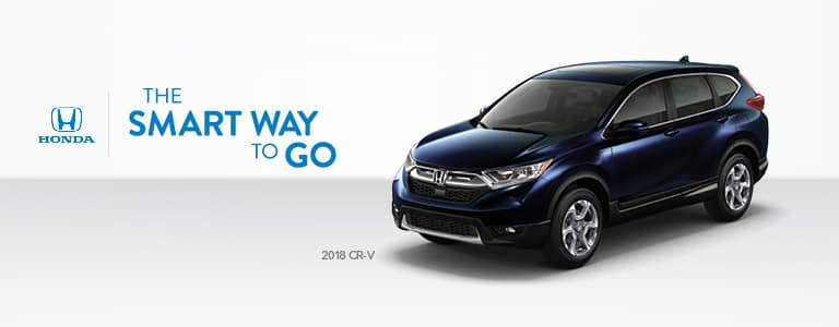 West Michigan Honda Dealers 2018 CR-V the Smart Way to Go