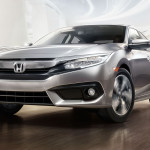 2017 Honda Civic Sedan Exterior Front Angle