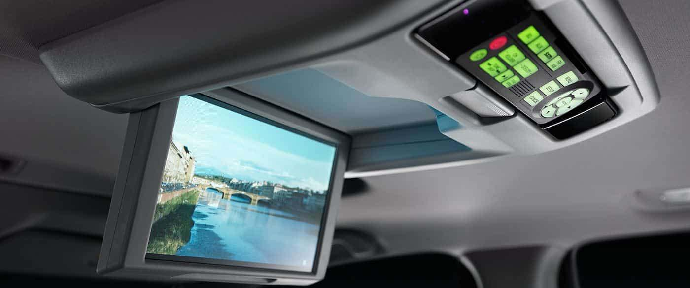 Honda Pilot Rear Entertainment System