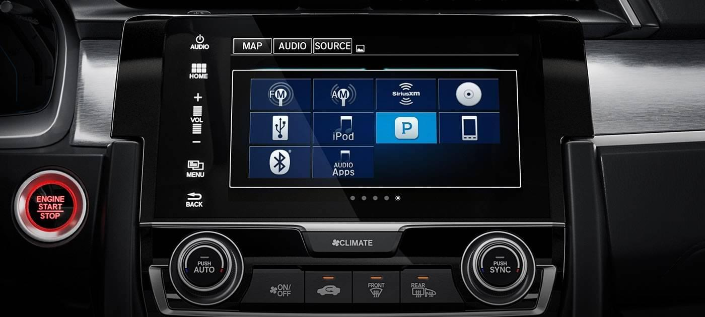 2017 Honda Civic HB Touchscreen