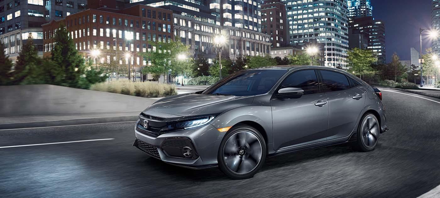 2017 Honda Civic HB Gray