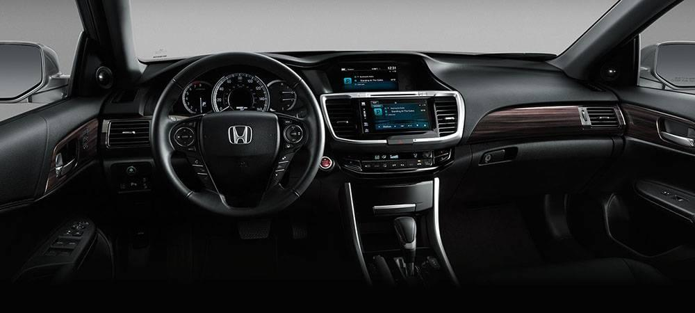 2017 Honda Accord Dash