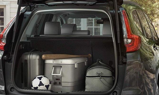 2017 Honda CR-V Trunk