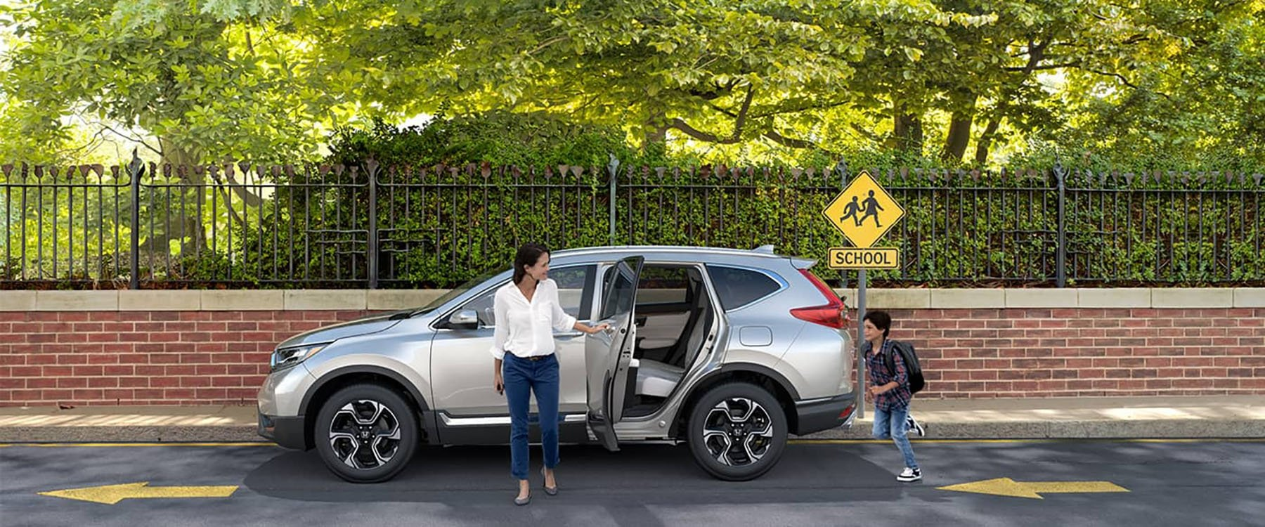 2017 Honda CR-V School Zone