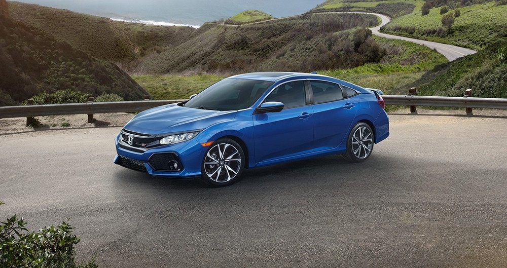 2017 Honda Civic Si Blue