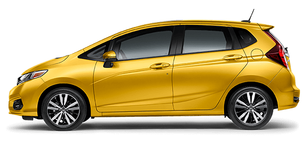 2018 Honda Fit Yellow