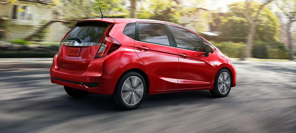2018 Honda Fit Red