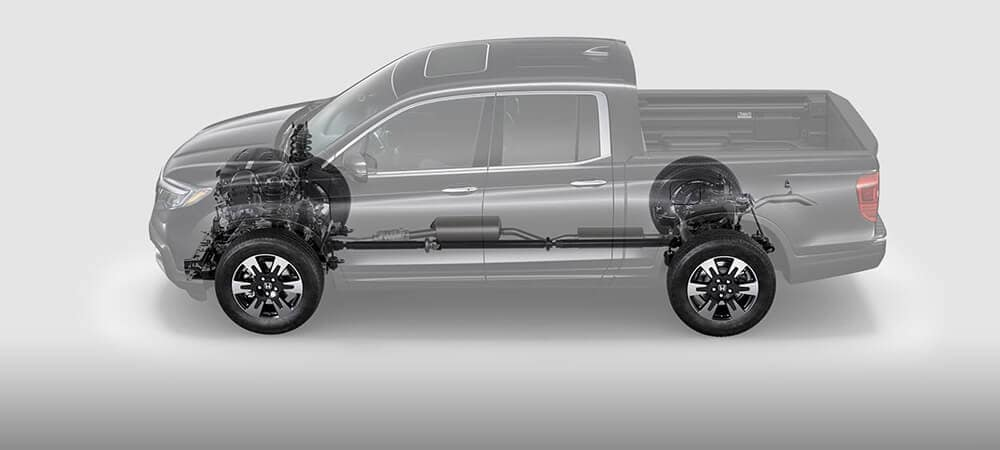 2018 Honda Ridgeline See Through