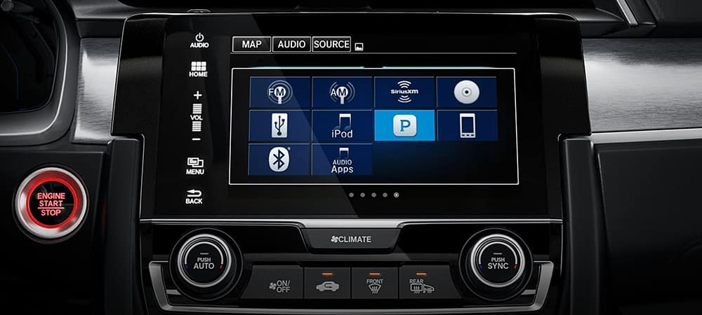 2018 Honda Civic Touchscreen