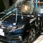 2018 Honda Odyssey Crash test side collision