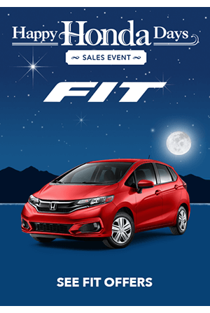 Happy Honda Days Fit Offers