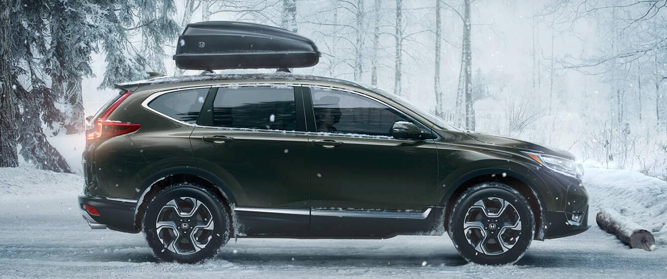2018 Honda CR-V AWD Exterior Side Profile
