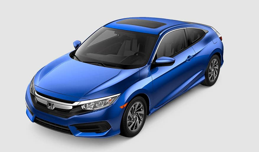 2018 Honda Civic Coupe Blue