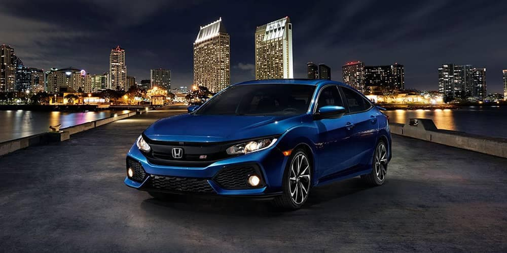 2018 Honda Civic Si PArked