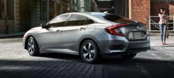 2018 Honda Civic rear