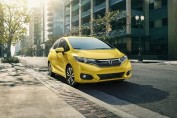 2019 Honda Fit Exterior Front Angle Passenger Side